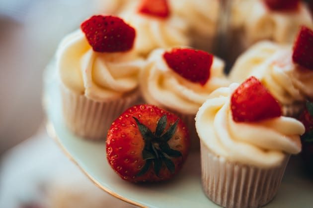 Strawberries and cakes, essex photographer