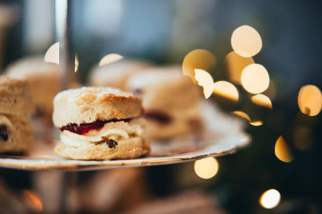 Scones and bokeh, essex business branding photography